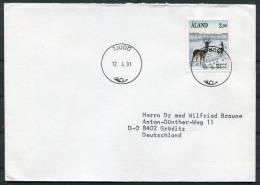 1991 Aland Tjudo Cover - Aland