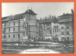 Q488, Anciennes Boucheries De Longemalle, Genève De Jadis, Non Circulée - GE Ginevra