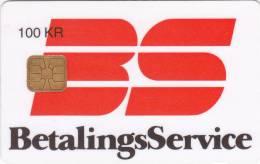 Denmark, DD 028B, Betalingsservice, Only 5400 Issued, 2 Scans.  07.95 - Danemark