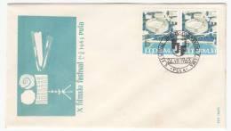 YUGOSLAVIA - Pula, Cinema, Film Festival, Envelope, Year 1963, Commemorative Seal