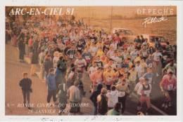 8ème Ronde Givrée Du SIDOBRE Du 28 Janvier 1990 - Atletiek