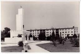 EUROPE SLOVENIA MURSKA SOBOTA THE MONUMENT OLD POSTCARD 1959. - Slovenia