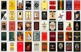 Lot 50 Dos Différents De Jeu De Cartes WHISKY (Speelkaarten, Playing Cards, Carte à Jouer) - Playing Cards (classic)