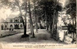 76 - Malaunay  LES BORDS DE LA RIVIÈRE DE CAILLY Usine Graffon - Dieppe