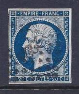 France, Scott # 15a Used Napoleon III, 1854 - 1853-1860 Napoleon III
