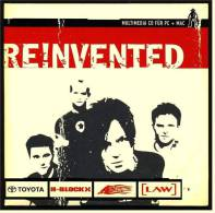 Rock Musik , Promo Maxi CD Reinvented - Multimedia In Papphülle - Rock