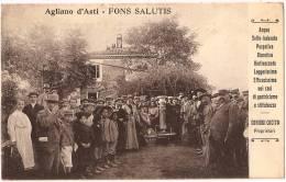 AGLIANO TERME - Fons Salutis +++ Agliano D'Asti à San Francisco, CA, USA, 1908 + RARE + Coniugi Cocito, Proprietari ++++ - Asti