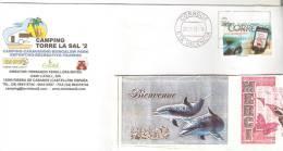 ENVELOPPE AVEC  TIMBRE ESPAGNE  ANNEE 2012 - OBLITERE - 1931-Aujourd'hui: II. République - ....Juan Carlos I