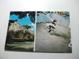 La Gallera Pelea De Gallos Finos  Cookfights  A True Latin American And Caribbean  Pastime Galli Da Combattimento - Cartoline