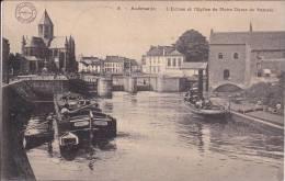 Audenaerde, Audenarde - L´Ecluse Et L´Eglise De Nôtre Dame De Pamele ; 1913  Prachtige Kaart Naar Dendermonde - Oudenaarde