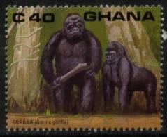 N° 1136 Du Ghana - X X - ( E 211 ) - Gorilles