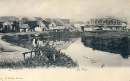 Bléharies - Le Pont ... Enjambant L´Escaut, Paysan - 1906 ( Voir Verso ) - Brunehaut