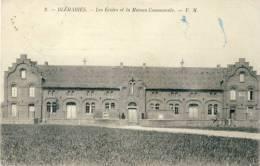 Bléharies - Les Ecoles Et La Maison Communale - -Correspondance Allemande -1918 ( Voir Verso ) - Brunehaut