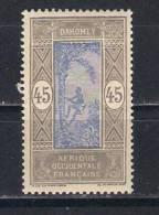 Dahomey Y/T   Nr 54* (a6p2) - Unused Stamps