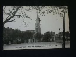 93 MONTREUIL SOUS BOIS PLACE DE LA REPUBLIQUE - Montreuil
