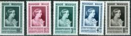 N° 863-867  XX - 1951 - Belgique