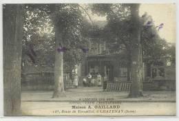 CHATENAY (HAUTS DE SEINE - 92 ) - CPA - HOTEL CAFE RESTAURANT - Chatenay Malabry