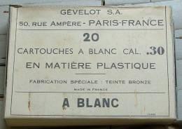Boite 30-06 à Blanc - Armes Neutralisées