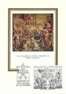 VATICAN CARTE MAXIMUM NUM.YVERT  634/635 GREGOIRE XI - Maximum Cards