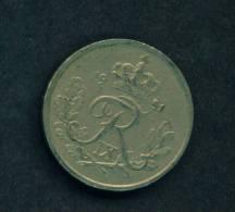 DENMARK  - 1951  25 Ore  Circulated As Scan - Denmark