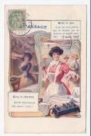 PUB -  Le Repassage - Avec Le Gaz C'est Un Vrai Plaisir...., Avec Le Charbon, Quelle Migraine Je Vais Encore Avoir!! - Publicité