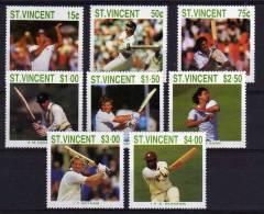 St Vincent - 1988 - Cricketers Of 1988 International Season - MNH - St.Vincent (1979-...)