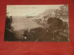 ROQUEBRUNE -  De Roquebrune à Monaco - Roquebrune-Cap-Martin