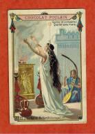 Chromo - Chocolat Poulain Gaufrer - Le Jour De L'An Dans Tous Les Pays - La Fête De Melkarth ( Carthage ) - N° 11 - Poulain