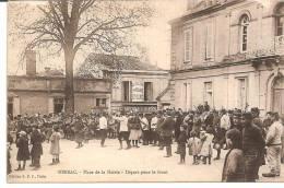 REF/7099  NERSAC.PLACE DE LA MAIRIE - France
