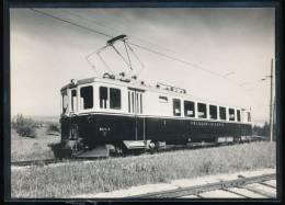 Train  ---  Yverdon - Ste - Croix --- ABe 4/4 3 - Trains