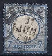 Empire - YT 10 Oblitéré / Deutsches Reich -Kleiner Brustschild Mi.Nr.10 Gestempelt - Gebraucht