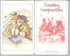 Carte Country Companions 1993 Gordon Fraser Gallery Représentant Des Animaux - Andere Sammlungen