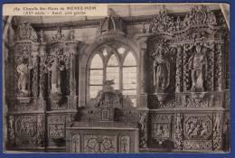 29 PLOMODIERN Chapelle De Sainte-Marie Du Menez-Hom Autel (côté Gauche) - Plomodiern