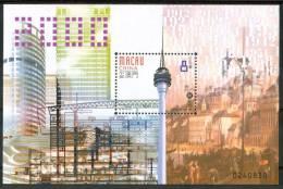 2000 Macao Une Nouvelle Ere Block MNH** Spa122 - 1999-... Regione Amministrativa Speciale Della Cina