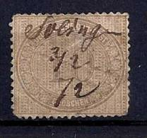 Empire - YT 26 Oblitération Plume / Deutsches Reich -Innendienst Mi.Nr. 12 Handschriftliche Entwertung Solingen 3/2/72 - Deutschland