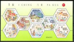 2001 Macao I Ching Pa Kua Block MNH** Spa126 - 1999-... Regione Amministrativa Speciale Della Cina