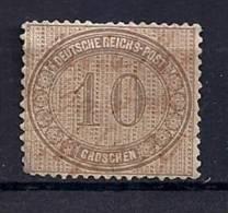 Empire - YT 26 Oblitération Plume / Deutsches Reich -Innendienst Mi.Nr. 12 Handschriftliche Entwertung - Deutschland