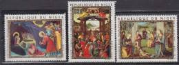 NIGER    1971     PA       N° 170 / 172    COTE    6.75    EUROS        ( 1285 ) - Niger (1960-...)