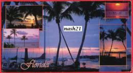 2003 - CPM - Carte Postale Circulée Grand Format- Miami Vers Dijon - - Miami Beach