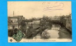 36 LA CHATRE , L'Indre Vue Du Pont Du Lion D'argent - La Chatre