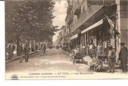 REF/7154  LES BOULEVARDS - Le Teil