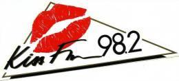 AUTOCOLLANT AUTOCOLLANTS RADIO LIBRE KISS FM - Autocollants