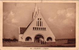 C 7938 - EULMONT - 54 - L'église -.Belle CPA  - - Autres Communes