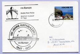 Schiffspost Färöer Torshavn MS EUROPA 1997 (153) - Färöer Inseln