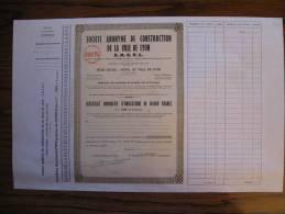 OBLIGATIONS SOCIETE ANONYME DE CONSTRUCTION DE LA VILLE DE LYON S.A.C.V.L. HOTEL DE VILLE DE LYON - Azioni & Titoli
