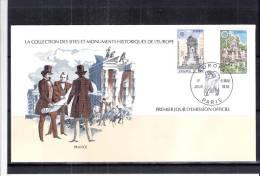 FDC Europa 1978 - Collection Des Sites Et Monuments Historiques De L´Europe - France - Europa-CEPT