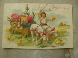 Romania  Easter Postcard -  Costumes -  SOCEC Ed.  1920's    D85679 - Romania