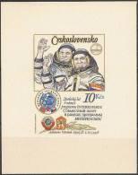 Space. CSSR 1979. Intercosmos Programme. Cosmonauts. Souvenir Sheet. Michel Bl.39 I B MNH. - Space