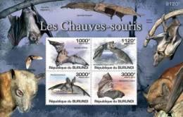 BURUNDI 2011 MNH** - Bats S/S - Mi B160 , YT BF150 - Burundi