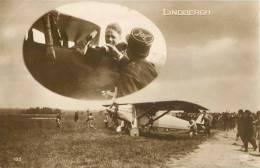 L´AVIATEUR LINDBERGH 1ere TRAVERSEE DE L´ATLANTIQUE EN AVION AVIATION - Aviatori